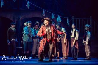 Rob Bertwistle (Fagin) and gang