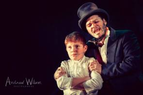 Mason Chandler-Wickens (Oliver) and Andy Blagrove (Bill)
