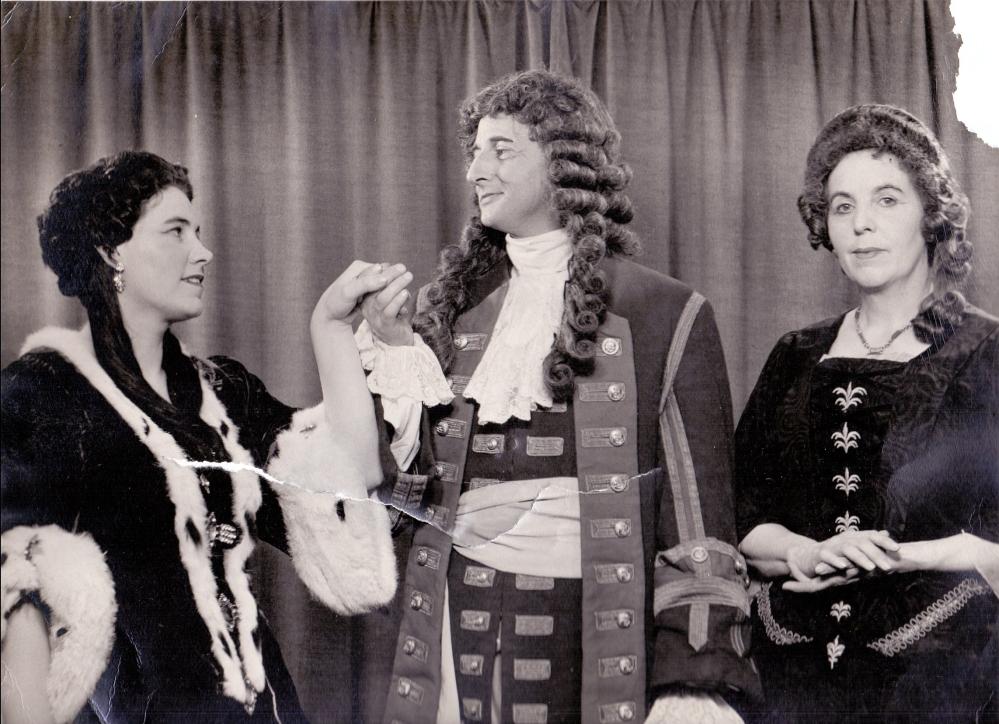 1959 Jolly Roger Ron Hewitt Sylvia Harrison Kathleen Hayward