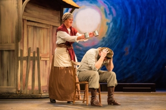 Steve Mellin (Tevye) and Jo Lainchbury (Golde)